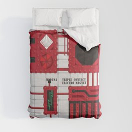 Rocky Horror Control Panel Comforters