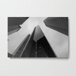 Interview on the 23rd floor Metal Print