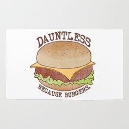 Dauntless - Because Burgers Rug