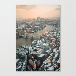 London from above Canvas Print