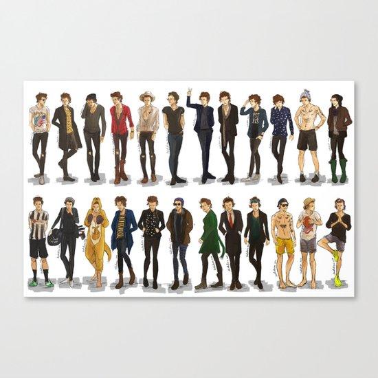 Styles' style Canvas Print
