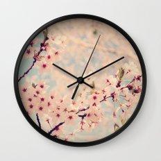 cherry Blossoms 2 Wall Clock