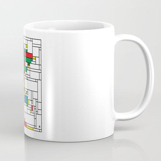 World Map - Modern Mug