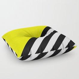Sunshine Zebra Floor Pillow