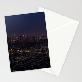 LA Skyline Stationery Cards