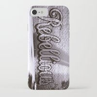 rebel iPhone & iPod Cases featuring Rebel by Monica Ortel ❖