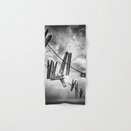 Clothespins Hand & Bath Towel