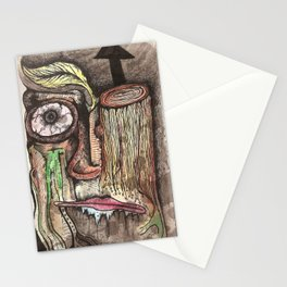 TreeFace Stationery Cards