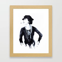 Gabrielle Framed Art Print