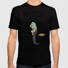 Witch Black Mens Fitted Tee MEDIUM