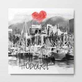 I love Hobart Metal Print