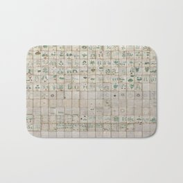 The Complete Voynich Manuscript - Natural Bath Mat