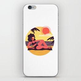 Sunny Summer iPhone Skin