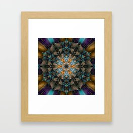 Mandala of aristocracy 2 Framed Art Print