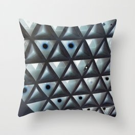 Triangle Gallery Throw Pillow