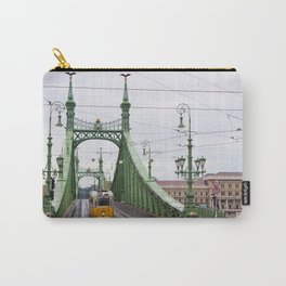 Yellow Tram in Budapest Carry-All Pouch