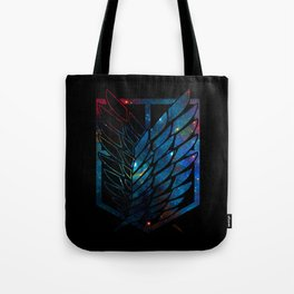Wings Of Justice: Galaxy Tote Bag