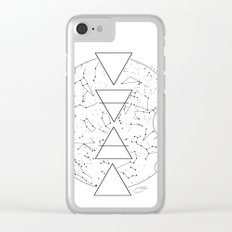 Celestial Alchemical Earth Clear iPhone Case