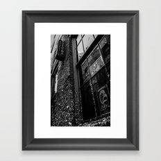 Alley Atmosphere Framed Art Print