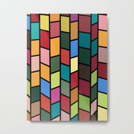 Color tiles Metal Print