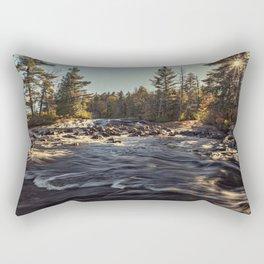 Adirondack river Rectangular Pillow