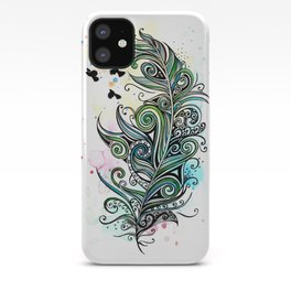Koru Feather iPhone Case