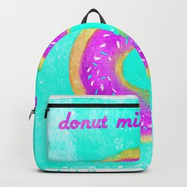 Donut mind if I do Backpack