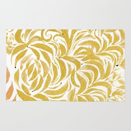 Leaves of Gold Rug