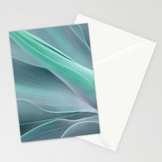 Blue Green Agave Attenuata Stationery Cards