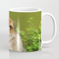 ape Mugs featuring Barbary ape by Pirmin Nohr