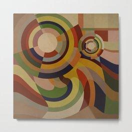 Sonia Circles TWO Metal Print