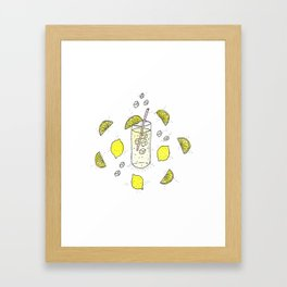 Lemon Lemon Lemon Framed Art Print
