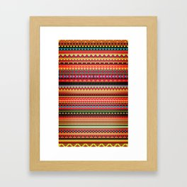 Bulgarian Rhapsody Pattern Framed Art Print