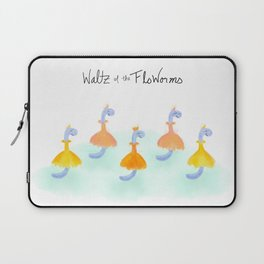 Waltz of the FloWorms Laptop Sleeve