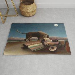Henri Rousseau - The Sleeping Gypsy Rug