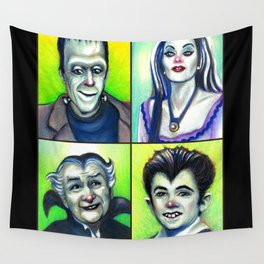 Munster Family Wall Tapestry