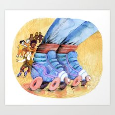 Let's Roll! Art Print