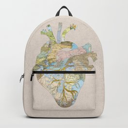 A Traveler's Heart (N.T) Backpack