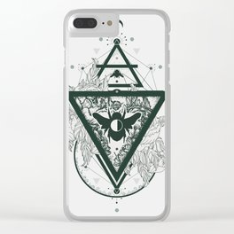 Foraged Hues Clear iPhone Case