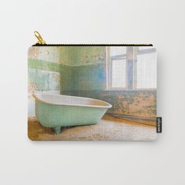 Antique Bathtub in Desert Americana Decor Carry-All Pouch