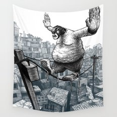 Furry Fingers Wall Tapestry