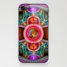 Time Space Portal iPhone & iPod Skin