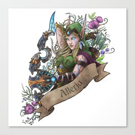 Huntress Canvas Print