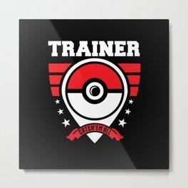 Trainer Metal Print