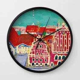 Expression Blackheads Wall Clock