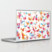takmaj Laptop & iPad Skins featuring Birds by takmaj