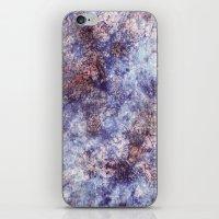 batik iPhone & iPod Skins featuring Batik Crackle by Amy Sia