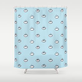 Eye Fall Shower Curtain