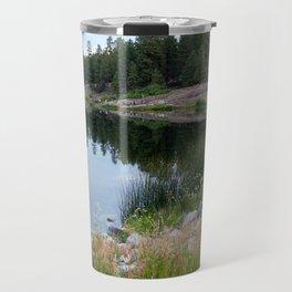 Trout Fishing on Haviland Lake Travel Mug