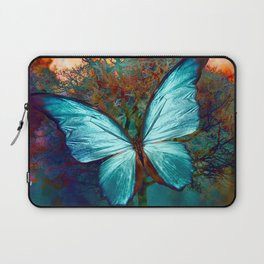 The Blue butterfly Laptop Sleeve